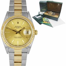 Rolex Oyster Perpetual Date Gold/Steel 34mm Gold United States of America, New York, Massapequa Park