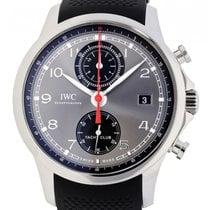 IWC Portuguese Yacht Club Chronograph nuevo 2019 Automático Reloj con estuche y documentos originales IW390503