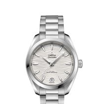 Omega Steel Automatic Silver 34mm new Seamaster Aqua Terra