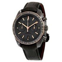 Omega Céramique Remontage automatique Noir Sans chiffres 44.5mm nouveau Speedmaster Professional Moonwatch