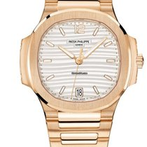 Patek Philippe Nautilus Rose gold 35.2mm Silver United States of America, New York, New York