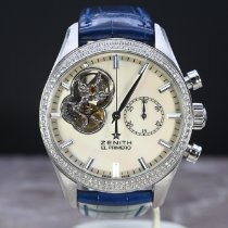 Zenith El Primero Chronomaster Lady Steel 38mm Mother of pearl No numerals