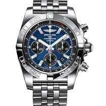 Breitling Chronomat 44 Steel 44mm Blue United States of America, Iowa, Des Moines