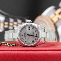 Rolex Lady-Datejust Acier 26mm Gris Romains