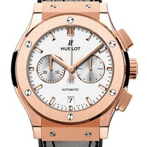 Hublot Classic Fusion Chronograph Rose gold 42mm White