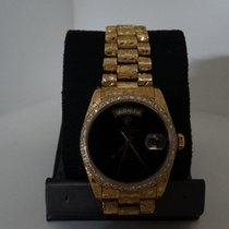 Rolex Day-Date Oysterquartz Oro amarillo 36mm Negro Sin cifras México, Los Mochis