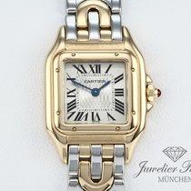 Cartier Panthère Жёлтое золото 22mm Римские