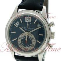 Patek Philippe Annual Calendar Chronograph Platinum 40mm Blue Arabic numerals