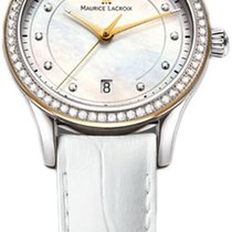 Maurice Lacroix Les Classiques Date Steel 33,0mm Mother of pearl No numerals