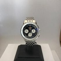 Breitling Chronograph 43mm Automatic 2012 new Navitimer 01 Black