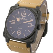 Bell & Ross BR03-92 BR03-92 Heritage in Black Ceramic Bezel -...