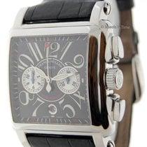 Franck Muller Cortez Conquistador Chronograph Steel Watch...