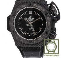 Hublot King Power Koolstof 48mm Zwart