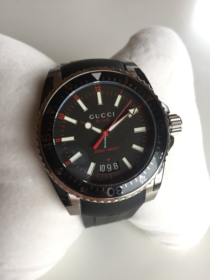 26d50b63bbe Gucci Dive - all prices for Gucci Dive watches on Chrono24