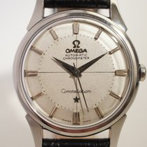 "Omega Constellation ""Pie-pan"" en acier, Automatique, chronomètre"