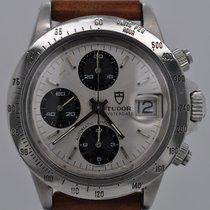 Tudor Oysterdate Big Block Automatic Chronograph Silver Dial...