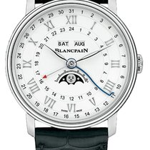 Blancpain Villeret Moonphase Steel 40mm White United States of America, New York, Airmont