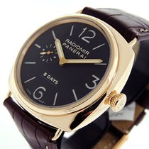 Panerai Radiomir 8 Days pre-owned 45mm Black Leather