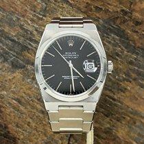Rolex DateJust Oyster quartz 17000 Black Dial Unpolished Case