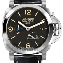 cf06591543e4 Panerai Luminor 1950 3 Days GMT Power Reserve Automatic new Automatic Watch  only