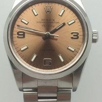 Rolex Air King Precision Steel 34mm Pink United Kingdom, Leicester