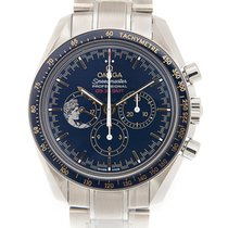 歐米茄 Speedmaster Stainless Steel Blue Manual Wind 311.30.42.30....