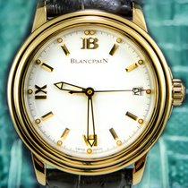 Blancpain Ultra Slim Léman 2100 - 18K Solid Gold - Retail;...