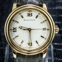 Blancpain 38mm Automatic pre-owned Léman Ultra Slim White