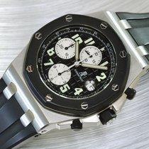 Audemars Piguet Chronograph 42mm Automatik 2003 gebraucht Royal Oak Offshore Chronograph Schwarz