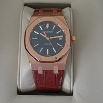 Audemars Piguet 15300OR.OO.D088CR.01 Royal Oak Date Black Dial...
