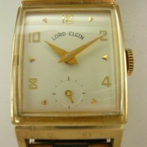 Elgin Yellow gold 22mm Manual winding rm1022 pre-owned