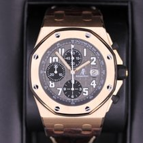 Audemars Piguet Rose gold Automatic Arabic numerals 42mm pre-owned Royal Oak Offshore Chronograph