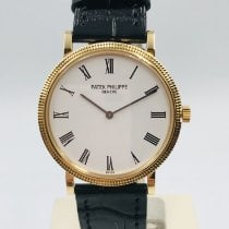 Patek Philippe Yellow gold Automatic White Roman numerals 35mm pre-owned Calatrava