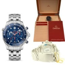 Omega Seamaster Diver 300 M Steel 44mm Blue No numerals United States of America, Pennsylvania, Uniontown