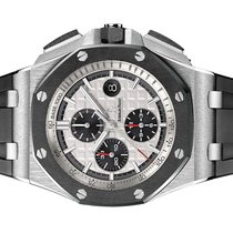 Audemars Piguet Royal Oak Offshore Chronograph Steel 44mm Silver No numerals