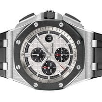 Audemars Piguet Royal Oak Offshore Chronograph Stål 44mm Sølv Ingen tall