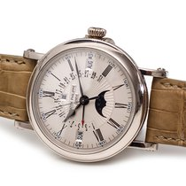 Patek Philippe Perpetual Calendar Or blanc 38mm Blanc Romain France, Paris/France/Europe