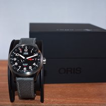 Oris Big Crown ProPilot GMT Steel 45mm Black Arabic numerals United States of America, Washington