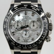 Rolex Daytona White gold 40mm Mother of pearl No numerals Singapore, Singapore