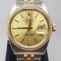 Rolex Guld/Stål 36mm Automatisk 16013 brugt