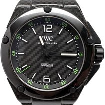 IWC Carbon Automatic Black No numerals 46mm pre-owned Ingenieur Automatic