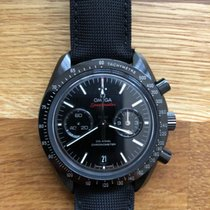 Omega Speedmaster Professional Moonwatch Kerámia Fekete Számjegyek nélkül