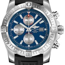 Breitling Super Avenger II Steel 48mm Blue Arabic numerals