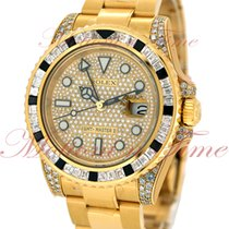 Rolex 116758SANR Yellow gold GMT-Master II 40mm pre-owned United States of America, New York, New York