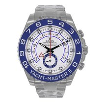 ロレックス YACHT-MASTER II 44mm Stainless Steel Watch 116680