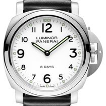 Panerai PAM00561 Luminor Base Steel Men's Watch