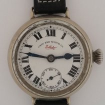 West End Watch Co. Steel 32mm Manual winding pre-owned