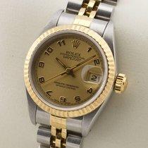 Rolex Lady Datejust Edelstahl 18K Gold Gelbgold Automatic...