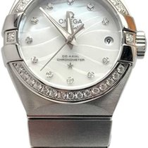 Omega Constellation Ladies Steel 27mm Mother of pearl No numerals United States of America, Florida