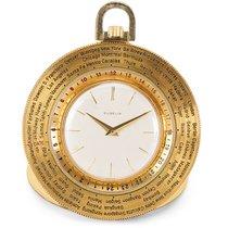 Gübelin World Timer Pocket Watch in 14K Gold-Filled